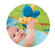 Hrazdičky a hrací deky - Hrací deka Cotoons Discovery Smoby s hrazdou, hnízdem, chrastítky a rybníkem pro nejmenší modrá_3