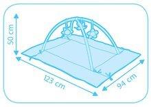 Hrazdičky a hrací deky - Hrací deka s hrazdou Cotoons Discovery Smoby s hnízdem, chrastítky a rybníkem pro nejmenší růžová_5