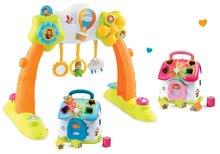 Set detská hrádza 2-in-1 Arch Cotoons Smoby elektronická+didaktický domček vkladací 110221-1
