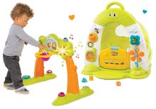 Set dětská hrazda Arch Cotoons Smoby 2v1 elektronická a domeček se stanem, zvukem a světlem
