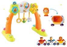 Set dětská hrazda Arch Cotoons Smoby 2v1 elektronická a autíčka Imagin Car Cotoons