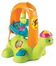 Jucărie educativă broască țestoasă cu mingi Cotoons Smoby verde de la 12 luni