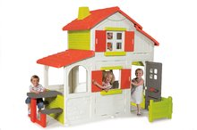 Domček pre deti Smoby Maison Duplex dvojposchodový s kuchynkou
