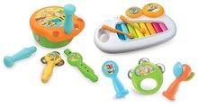 Set instrumente muzicale Musical Cotoons Smoby pentru cei mai mici de la 12 luni