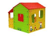 Domčeky pre deti - Domček Fun Farm Starplast s plotom a strechou na jednej strane od 24 mes_1