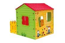Domčeky pre deti - Domček Fun Farm Starplast s plotom na jednej strane_1