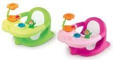 Ülőke a fürdőkádba Béka Cotoons Smoby virággal és tapadókorongokkal rózsaszín/zöld
