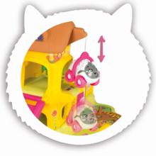 Staré položky - Poschodová garáž Animal Planet Smoby elektronická so zvukom a autíčkom 7 cm od 18 mes_0