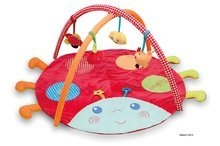 Plišasta podloga Colors-Activity Playmat Ladybug Kaloo multifunkcijska s pregrado za najmlajše