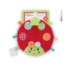 Plüss katicabogár rágókával Colors-My Sweet Doudou Ladybug Kaloo 25 cm legkisebbeknek