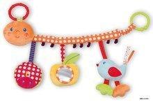 Kolotoče nad postieľku - Plyšová hrazdička Colors-My Pram Caterpillar Kaloo so zrkadlom a hrkálkou 40 cm pre najmenších_1