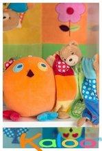 Hračky na maznanie a usínanie - Plyšový medvedík bábkové divadlo Colors-Doudou Puppet Bear Patchwork Kaloo 20 cm v darčekovom balení pre najmenších_1