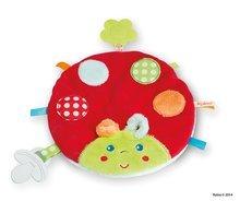Hrkálky a hryzátka - Plyšová lienka Colors-My Sweet Doudou Ladybug Kaloo s hryzátkom 25 cm pre najmenších_1