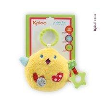 Plyšové kuriatko Colors-My Singing Chick Kaloo spievajúce  s hryzátkom 25 cm pre najmenších