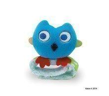 Kaloo plyšová hrkálka sovička Colors-Rattle Bracelets 963322-4 modrá
