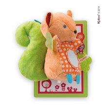 Plüss mókus rágókával és tükörrel Colors-My Activity Squirrel Kaloo 30 cm legkisebbeknek