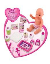 Staré položky - Opatrovateľský kútik pre bábiku Minnie Smoby elektronický s tabletom, 32 cm bábikou a 22 doplnkami_6