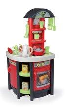 Staré položky - Studio Tefal Kitchen Smoby elektrická s rýchlovarnou konvicou červeno šedá 99 cm vysoká_0