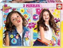 Puzzle Soy Luna Disney Educa 2x500 dílů od 11 let