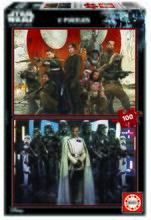 Puzzle Star Wars Story-Rouge One Educa 2x100 dielov od 5 rokov