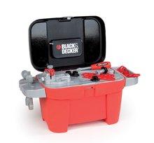 SMOBY 500064 detská pracovná dielňa Black&Decker v kufríku Tooly 2v1 a 18 doplnkov