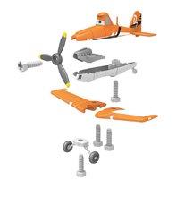 Pracovná detská dielňa - Pracovný stôl Lietadlá Smoby s lietadlom Dusty, mechanickou vŕtačkou a 80 doplnkami_0