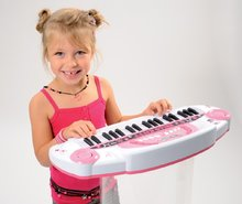 Staré položky - Elektronické piano Hello Kitty Smoby světle růžové_2