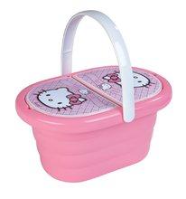 Staré položky - SMOBY 24768 Hello Kitty piknikový košík