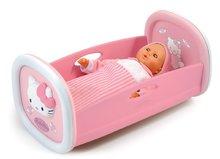 Kolíska Hello Kitty Smoby pre 42 cm bábiku s perinkou od 18 mesiacov