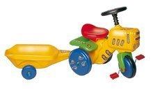 Záhradný traktor pre deti Dohány žltý