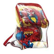 Pončo sety - Súprava osuška a lopta Spiderman Mondo v batohu_0