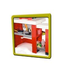 Régi termékek - Játékkonyha Loft 4in1 Smoby piros hanggal 25 kiegészítővel_1