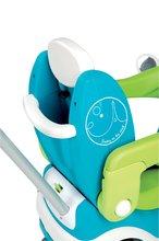 Staré položky - Odrážadlo Bubble Go II Smoby Balade so zvukom a medveďom modro - zelené od 6 mes_6