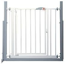 Barieră de siguranţă pentru uşă şi scări Auto-close Advanced™ Red Castle 68.5 - 75 cm albă