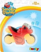 Autíčka - Motorka Vroom Planet Smoby rôzne farby dĺžka 8 cm na karte od 12 mes_0