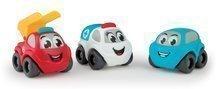 SMOBY 120201-1 Vroom Planet autíčka 3 kusy v darčekovom balení  záchranársky set  7 cm od 12 mesiacov