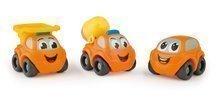 Súprava 3 autíčok Vroom Planet Smoby pracovné dĺžka 7 cm od 12 mes