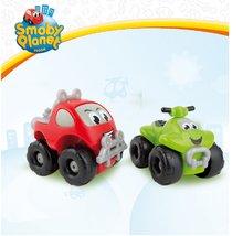 Autíčka - Terénne autíčko a štvorkolka Vroom Planet Smoby dĺžka 8 cm od 12 mes_4