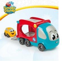 Nákladné autá - Kamión Vroom Planet Smoby dĺžka 21 cm s autíčkom od 12 mes_5