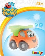 Autíčka - Autíčko Vroom Planet Smoby - hasiči, odťahovka, sanitka, miešačka, nákladiak,pracovné auto dĺžka 7 cm od 12 mes_0