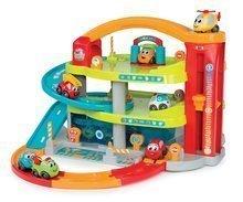 Garaže - Garaža na dva kata Vroom Planet Grand Smoby s 1 autićem i boksom za odlaganje od 18 mjeseci_0