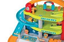 Garaže - Garaža na dva kata Vroom Planet Grand Smoby s 1 autićem i boksom za odlaganje od 18 mjeseci_4