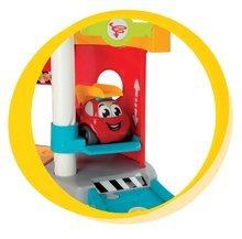 Garáže - Poschodová hasičská stanica Vroom Planet s autíčkom Smoby od 18 mes_2