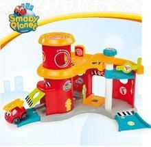 Garáže - Poschodová hasičská stanica Vroom Planet s autíčkom Smoby od 18 mes_4