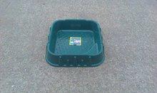 Pieskoviská pre deti - Pieskovisko Starplast štvorcové s krytom objem 60 litrov zelené od 24 mes_1