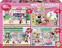 Puzzle Disney Minnie Mouse Educa 150-100-80-50 buc de la 5 ani