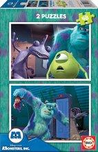 Puzzle pre deti Disney Príšerky s. r. o. Educa 2x48 dielov od 5 rokov