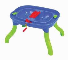 Vodne dráhy pre deti - Stôl na hranie Starplast multifunkčný s 2 loďkami, vodným mlynom, 2 mostami a zástavou_2