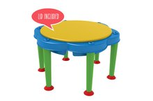 Detský záhradný nábytok - Stôl na hranie Multi Activity Starplast na vodu a piesok bez slnečníka_1