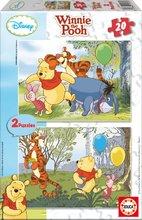 EDUCA 14967 PUZZLE CARDBOARD Disney  Macko Pu 2 x 20 dielov 28*20 cm